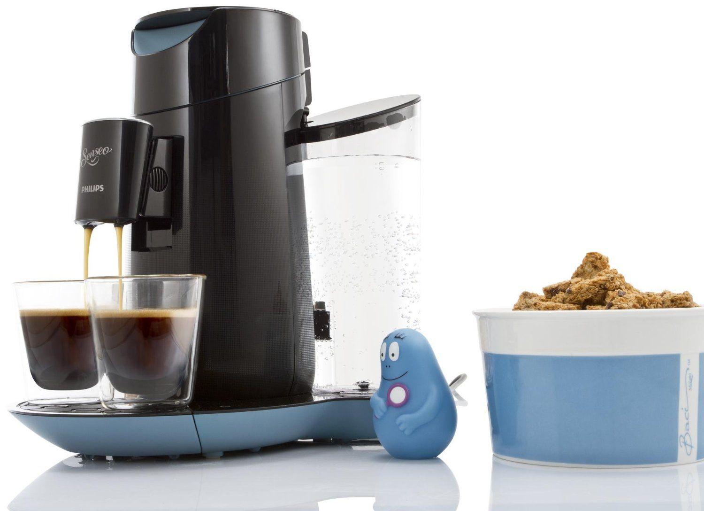 senseo hd7870 60 twist kaffeepadmaschine kaffeemaschine touchpanel schwarz blau ebay. Black Bedroom Furniture Sets. Home Design Ideas